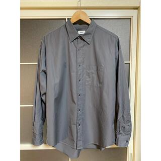 アレッジ(ALLEGE)の【ALLEGE】Standard Shirt (GRAY)(シャツ)