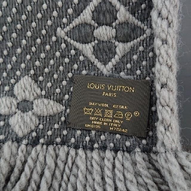 LOUIS VUITTON(ルイヴィトン)の最終価格 ルイヴィトン マフラー エシャルプロゴマニア レディースのファッション小物(マフラー/ショール)の商品写真