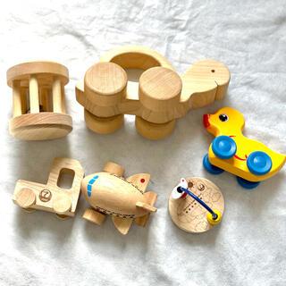 木のおもちゃセット