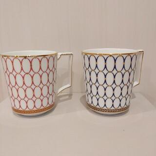 WEDGWOOD - ウェッジウッド ルネッサンス ペアマグカップ