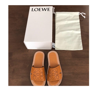 LOEWE - LOEWE正規品 アナグラムサンダル♡ 最終値下げ43000→