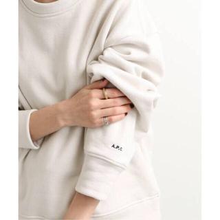 IENA - 新品タグ付き IENA 【A.P.C./ アーペーセー】別注 スウェットシャツ