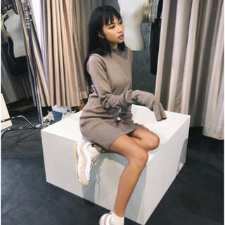 GYDA - JUEMI♡Pillingless Long Sleeve Knit Dress