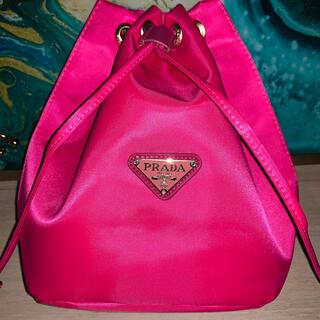 PRADA - PRADA ノベルティ巾着ポーチ 収納バッグ ピンク