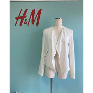 エイチアンドエム(H&M)のH&M  とろみジャケット❤️(ノーカラージャケット)