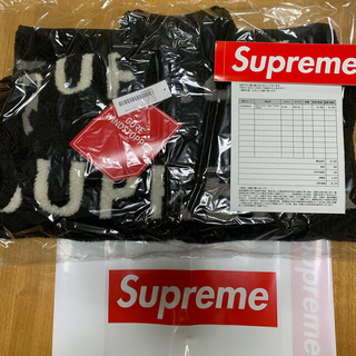 Supreme - Supreme Reversible Logo Fleece Jacket M