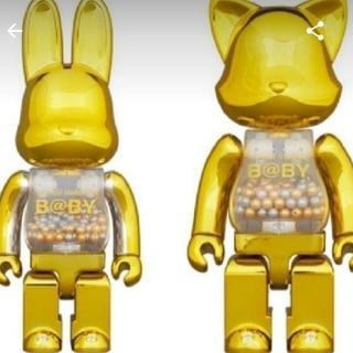 メディコムトイ(MEDICOM TOY)のMY FIRST NY@BRICK R@BBRICK Gold Ver セット☆(キャラクターグッズ)