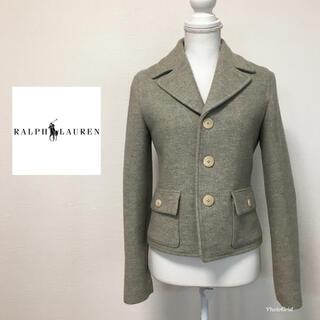 ラルフローレン(Ralph Lauren)のRalph Lauren ラルフローレン ジャケット 9号 グレー(テーラードジャケット)