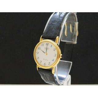 セイコー(SEIKO)のSEIKO Exceline エクセリーヌ 14K 腕時計 ラウンドフェイス 金(腕時計)
