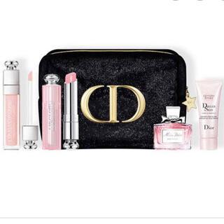 ディオール(Dior)のディオールクリスマス2020 ポーチセット(コフレ/メイクアップセット)