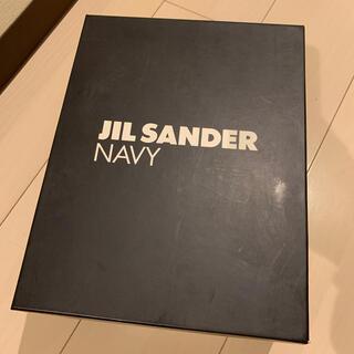 ジルサンダー(Jil Sander)の新品未使用 jilsander NAVY ヒールブーツ 40(ブーツ)