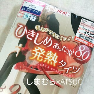 Atsugi - 新品 ATSUGI×しまむら タイツ