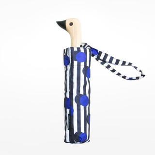 mina perhonen - 限定値下げ!海外美術館買付品!鳥+ドットの折り畳み傘!ミナペルホネンイイダ傘店