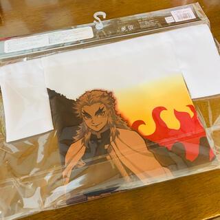 バンダイ(BANDAI)の鬼滅の刃 公式 正規品 煉獄杏寿郎 巾着 給食袋 コップ袋(キャラクターグッズ)