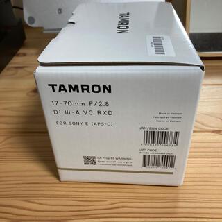 TAMRON - タムロン  17-70mm F/2.8 ソニーEマウント