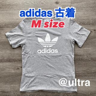 adidas - 【Mサイズ】adidas Tシャツ 古着 グレー
