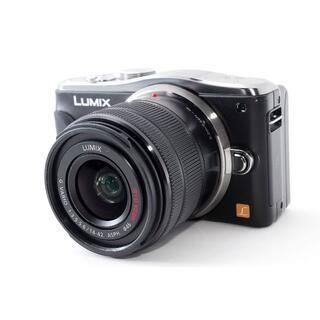 パナソニック(Panasonic)の❤液晶が回転して簡単自撮り♪Wi-Fi対応❤LUMIX GF6 ブラック(ミラーレス一眼)