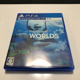 プレイステーションヴィーアール(PlayStation VR)のPlayStation VR WORLDS PS4 中古(家庭用ゲームソフト)