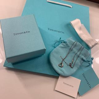 ティファニー(Tiffany & Co.)のTiffany&Co ハートネックレス(ネックレス)