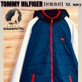 TOMMY HILFIGER - 【状態良好】トミーヒルフィガー フルジップ フード付ジャケット XL