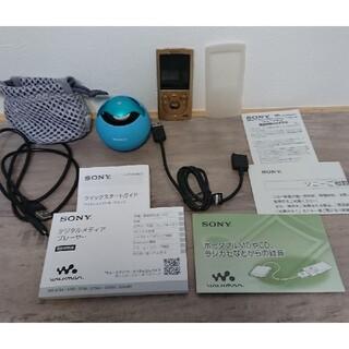 ウォークマン(WALKMAN)のウォークマン ワイヤレススピーカー SONY NW-S766 SRS-BTV5(ポータブルプレーヤー)