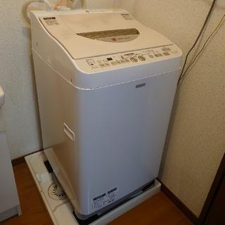 シャープ(SHARP)の[美品、直接引取希望] シャープ 洗濯乾燥機 ES-TG6NC(洗濯機)