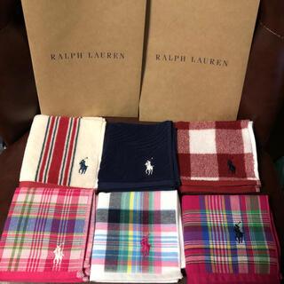 ラルフローレン(Ralph Lauren)のラルフローレン ハンカチ 6枚セット(ハンカチ)