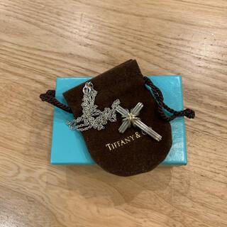 ティファニー(Tiffany & Co.)のティファニー クロスペンダント(ネックレス)