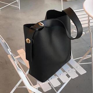 新品未使用 トートバッグ ハンドバッグ 大容量 ポーチ付き