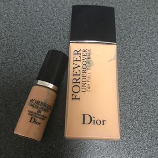 ディオール(Dior)のDior ディオールスキン フォーエヴァー ファンデーション(ファンデーション)