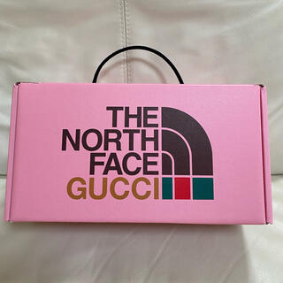 Gucci - 1/6発売!完売品!コラボ!GUCCI THE NORTH FACE 空箱