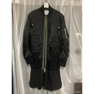 サカイ(sacai)のsacai nylon twill coat 20aw(トレンチコート)