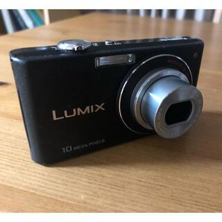 パナソニック(Panasonic)の1/20まで パナソニックLUMIX FX37 ブラック(コンパクトデジタルカメラ)