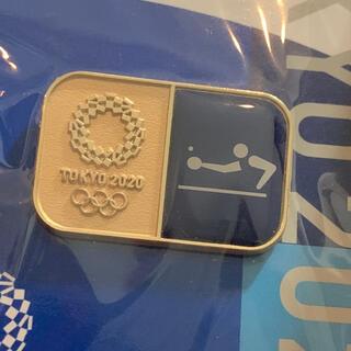 卓球 ピンバッジ(東京2020オリンピックスポーツピクトグラム)(その他)