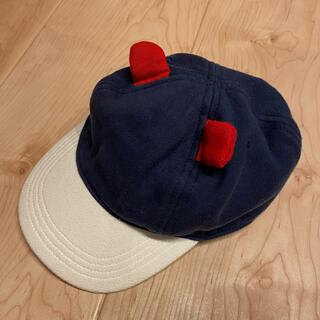 プチバトー(PETIT BATEAU)の1度のみの使用ですプチバトー12m-18m帽子(帽子)