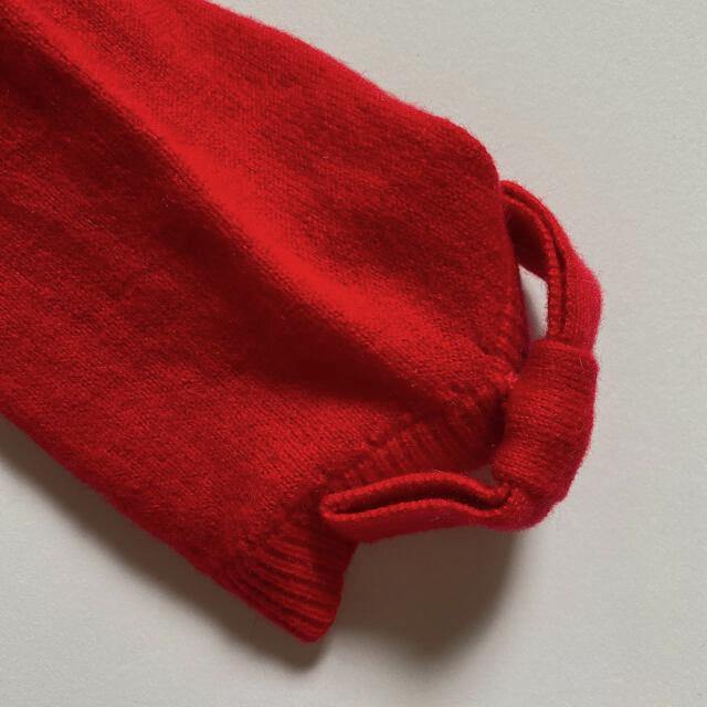 kate spade new york(ケイトスペードニューヨーク)のケイトスペード 袖リボン バックジップ ニット Sサイズ レディースのトップス(ニット/セーター)の商品写真