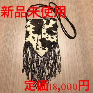 【新品未使用】【牛革】ポシェット 斜めがけ(ショルダーバッグ)