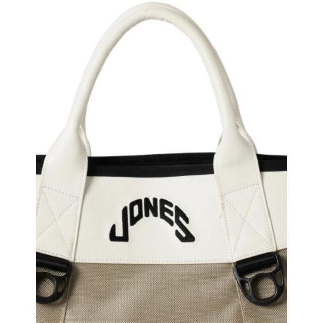 BEAMS(ビームス)のJONES × BEAMS GOLF / 別注 スペシャル トートバッグベージュ スポーツ/アウトドアのゴルフ(バッグ)の商品写真