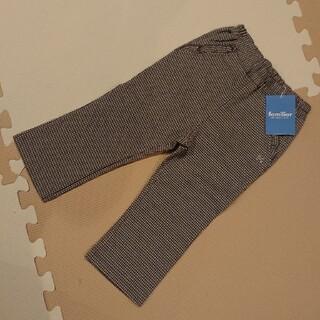 familiar - ファミリア チェック柄 パンツ 90センチ