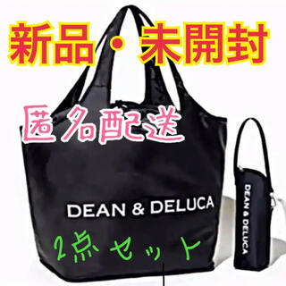 DEAN & DELUCA - DEAN & DELUCA レジカゴバッグ ボトルケース GLOW エコバッグ