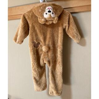 ディズニー(Disney)の公式 ダッフィー カバーオール 着ぐるみ ロンパース 子供服 90サイズ (カバーオール)