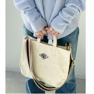 アパルトモンドゥーズィエムクラス(L'Appartement DEUXIEME CLASSE)の【AMERICANA/アメリカーナ】 AME Tote Bag Mini(トートバッグ)