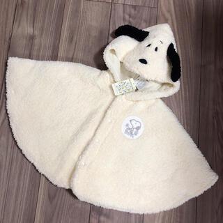 SNOOPY - 新品タグ付き peanuts SNOOPY スヌーピーポンチョ ジェラートピケ