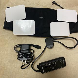 パナソニック(Panasonic)のemsベルト ダイエット 筋トレ ウエストベルト 健康器具 下腹 運動器具(トレーニング用品)