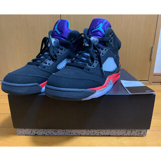 ナイキ(NIKE)のNIKE AIR JORDAN 5 RETRO TOP3 28cm(スニーカー)