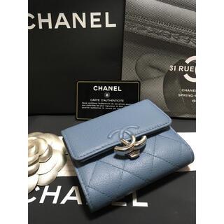 CHANEL - 超美品♡ シャネル ダブルココ フラップウォレット 折り財布 27番台 正規品
