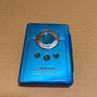 パナソニック(Panasonic)のPanasonic STEREO CASSETTE PLAYER RQ-SX46(ポータブルプレーヤー)