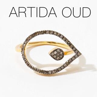agete - ■現行品■【ARTIDA OUD】[lotus] フラワー ダイヤモンド リング