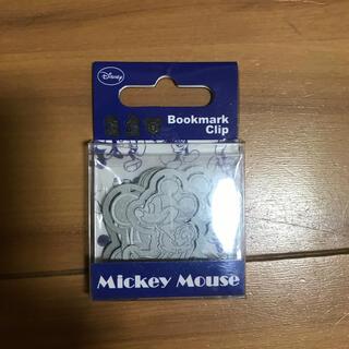 ディズニー(Disney)のミッキー ブックマーククリップ 9個セット(しおり/ステッカー)