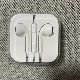iPhone - 新品未使用 Apple iPhone純正イヤホン